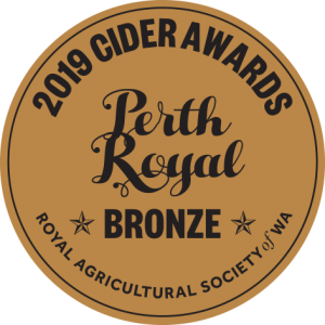 Cider Awards 40mm 2019 BRONZE