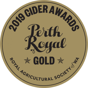 Cider Awards 40mm 2019 GOLD