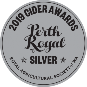 Cider Awards 40mm 2019 SILVER